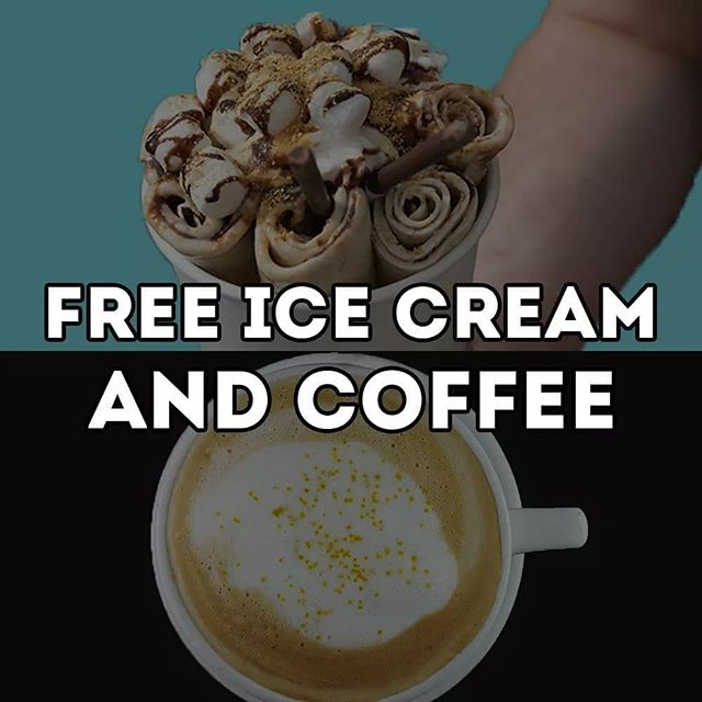 Free Rolled Ice Cream and Coffee and giveaways!  You read that right.  Rolled and Roasted is Asheville dedicated Rolled Ice Cream business, and after a recent survey, we found out that under 15% of Asheville and surrounding area knows what that is. So, let's change that.  Friday 4/19 from 8a-8p at our Rolled and Roasted North get ANY Large Latte ($5.95 value) for FREE (even through our drive-thru), and get a 50% off your ENTIRE PURCHASE coupon, no purchase necessary.  From 12p-6p, Saturday 4/20 at Rolled and Roasted North (870 Merrimon Avenue, Asheville, NC, 28804), we will be serving our two top Rolled Ice Cream flavors for absolutely free. Also, show up and get a 50% off your ENTIRE PURCHASE coupon, no purchase necessary.  Also, like, comment and share this status for a chance to win a $50 GIFT CARD to Rolled and Roasted!  Free Ice Cream, Free Coffee and a Giveaway. It only takes 5 seconds to enter, and 5 minutes to enjoy our amazing treat, on us!