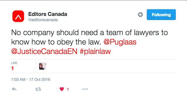 plain language in Canadian policy