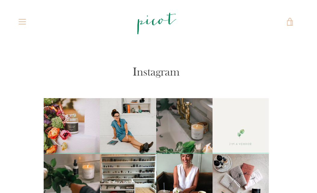 Follow Picot on IG: @picotcollective