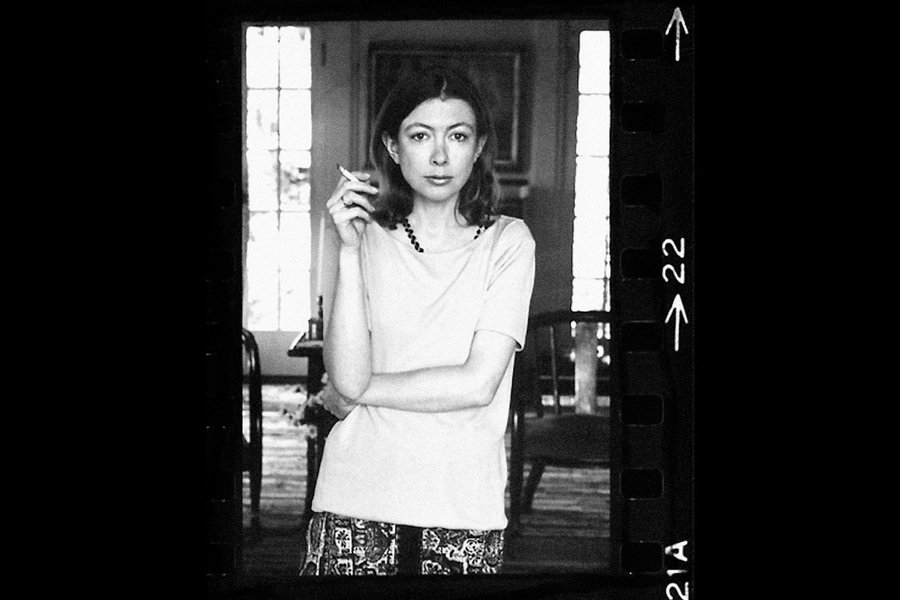 Joan Didion. Copyright 1970 Julian Wasser