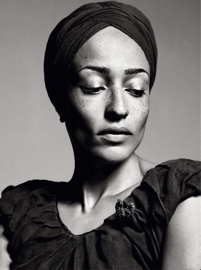 Zadie Smith. Photograph by Sebastian Kim
