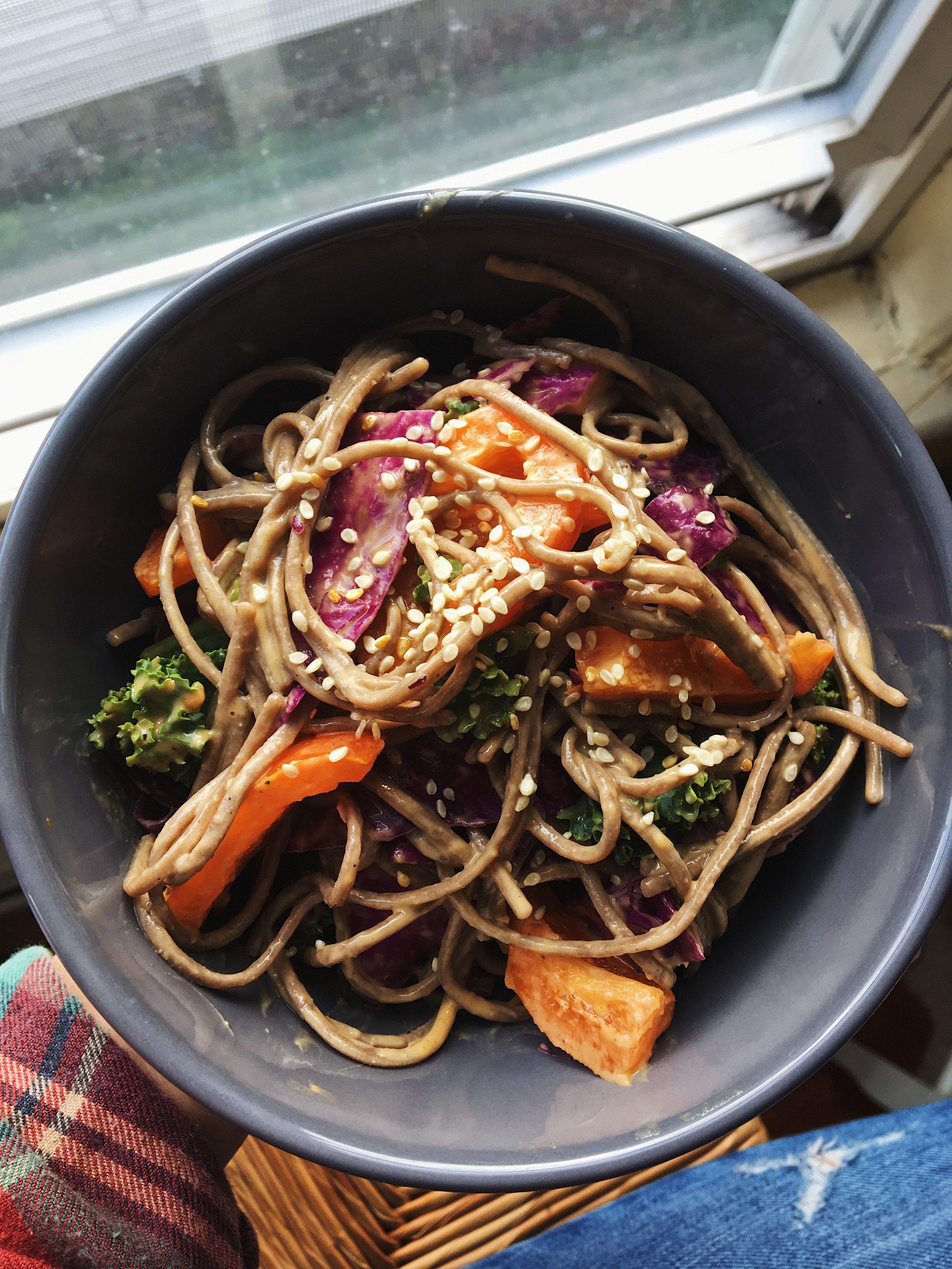 Soba Noodles- Homemade