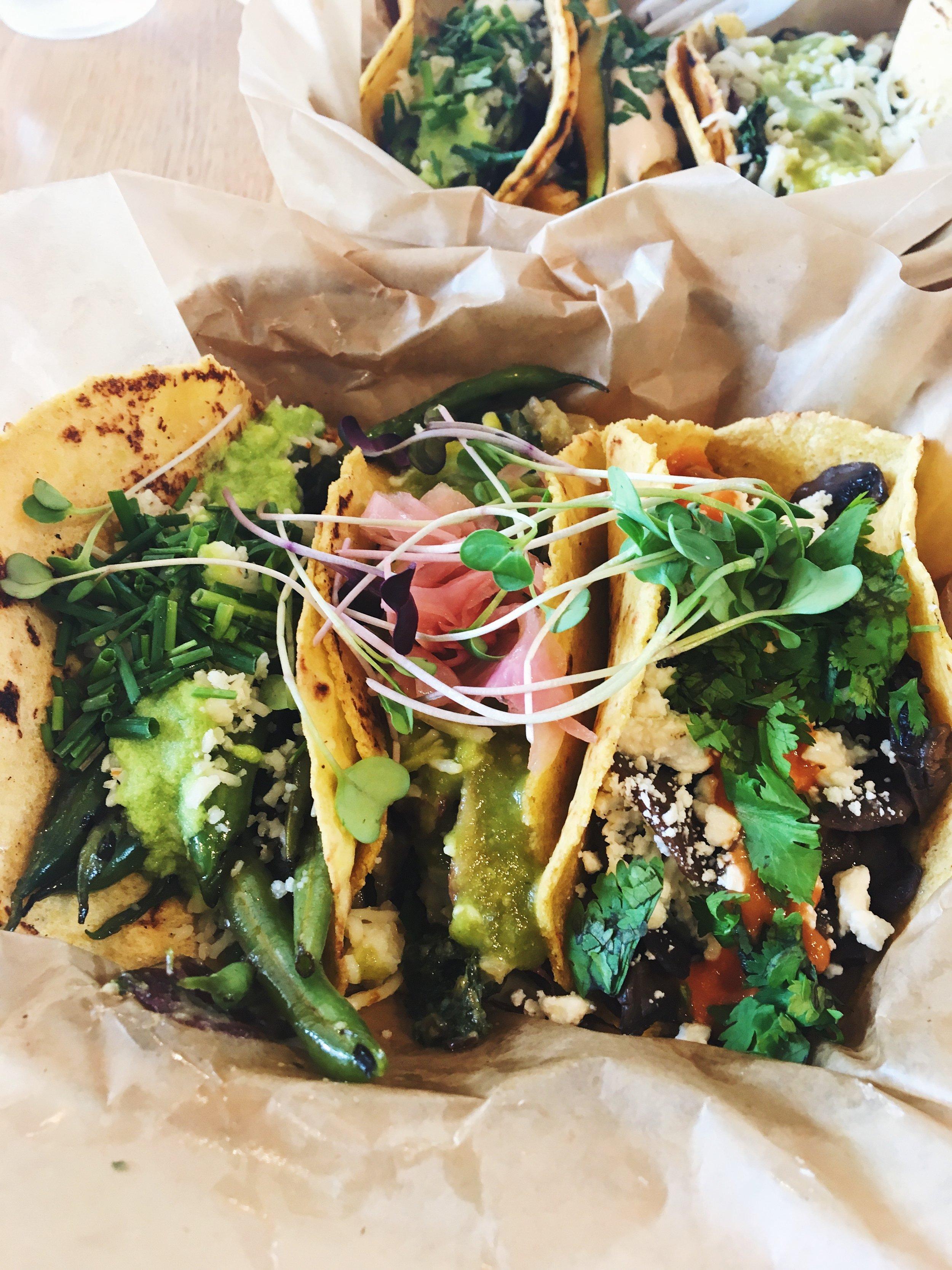 Veggie Tacos- Chaia DC