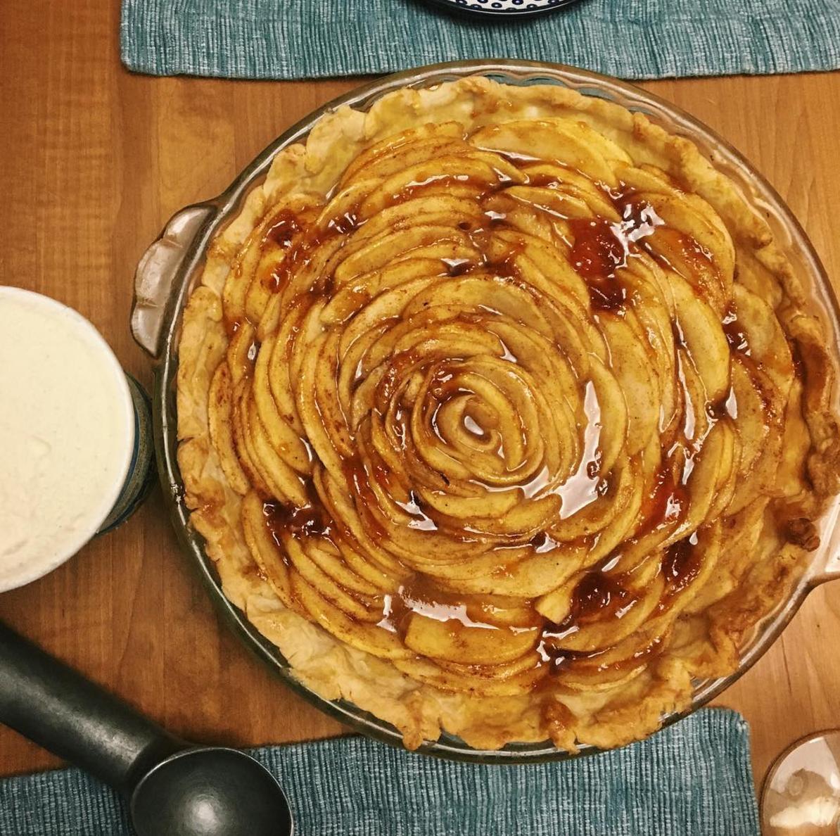 Apple Pie- Homemade