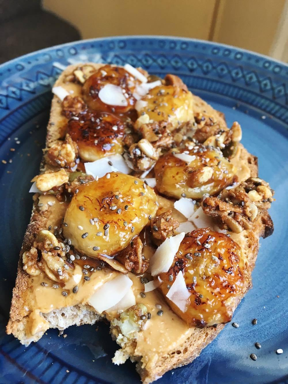 Caramelized Nana Toast