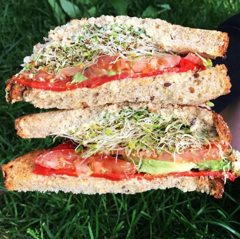 Veggie Sandwich- Dean and Deluca