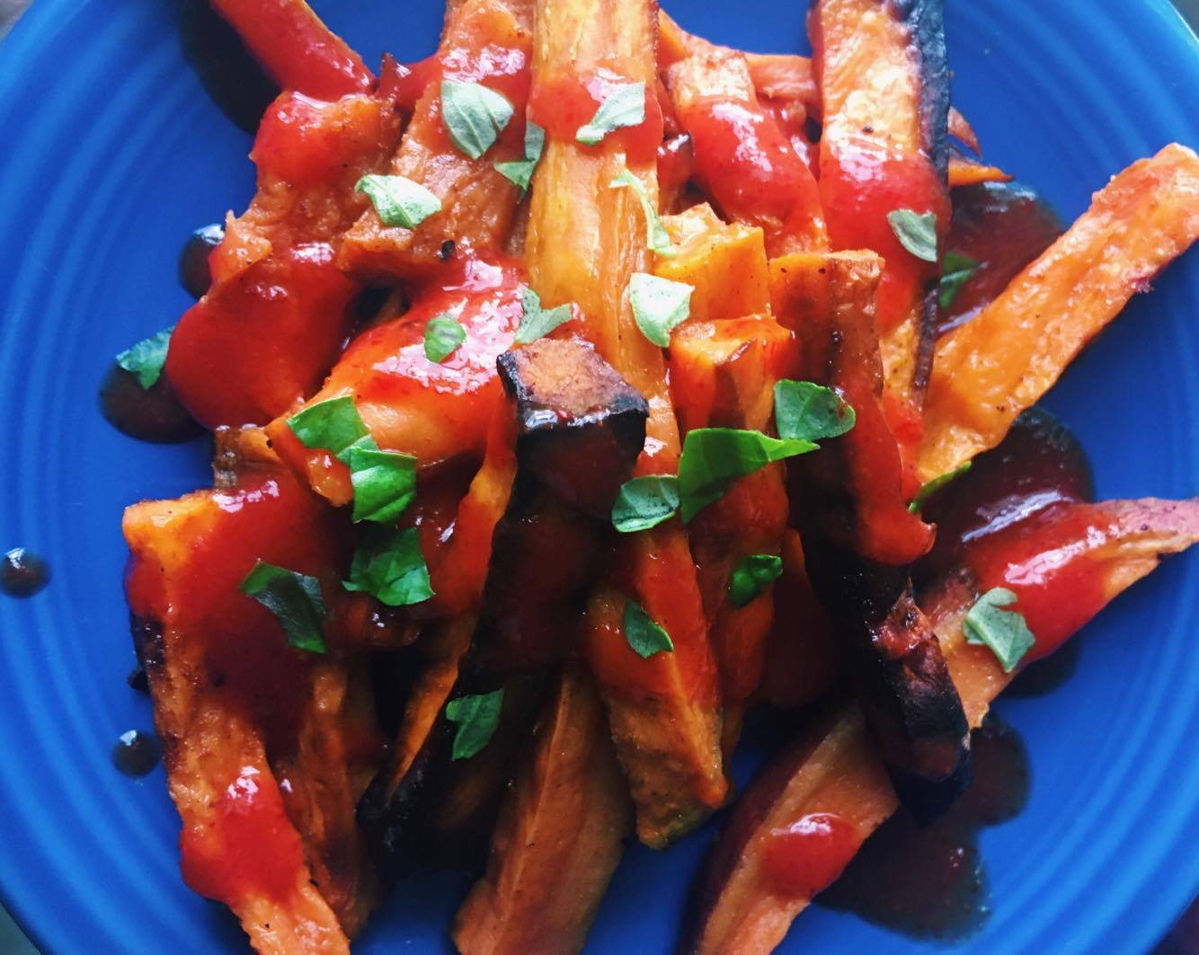 Crispy Sweet Potato Fries - Homemade