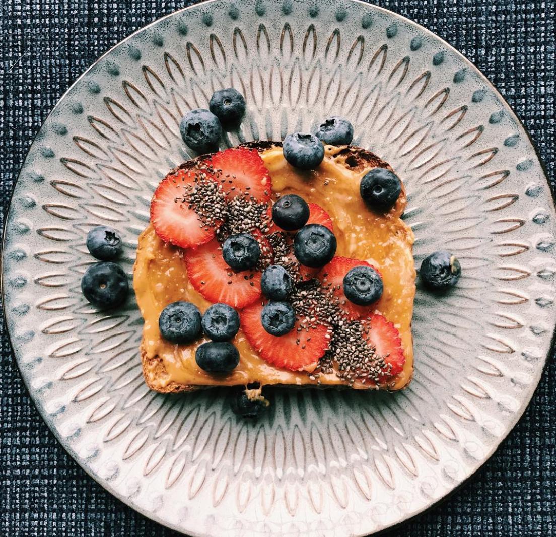 Peanut Butter Toast- Homemade