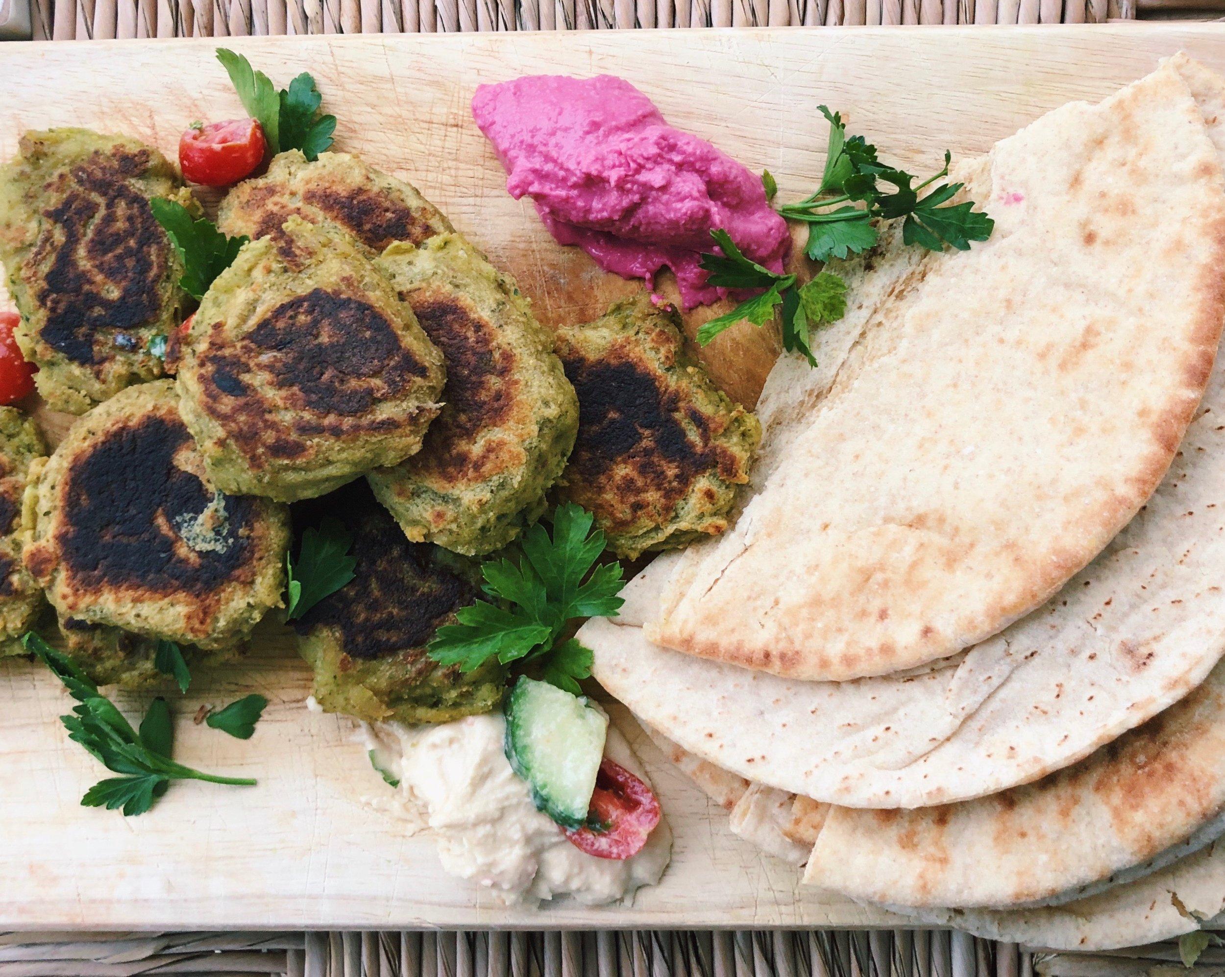 Falafel W/ Tahini Kale SALAD