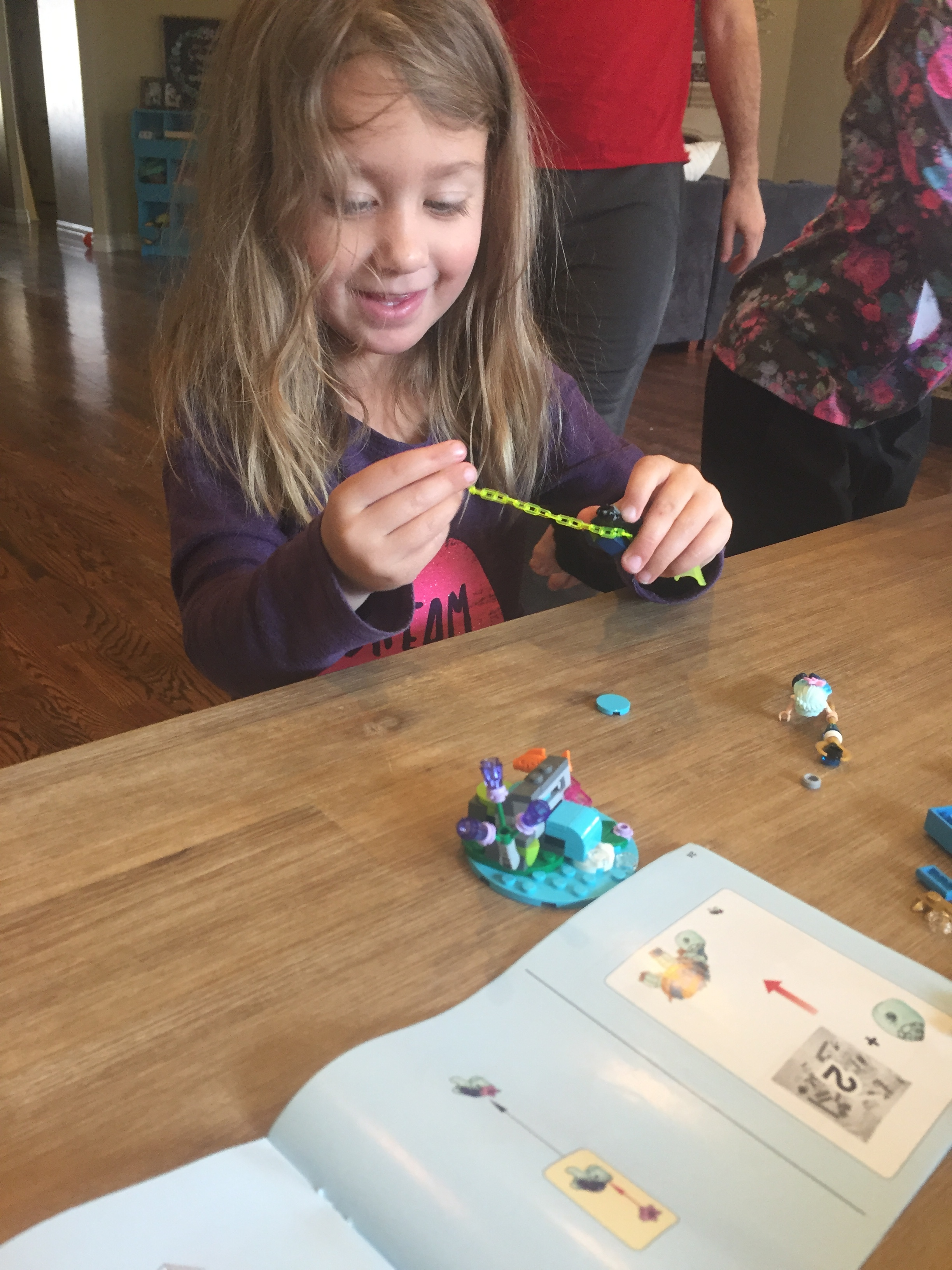 Lego fun! The kids each bought me a Lego Elf kit as a surprise! =)