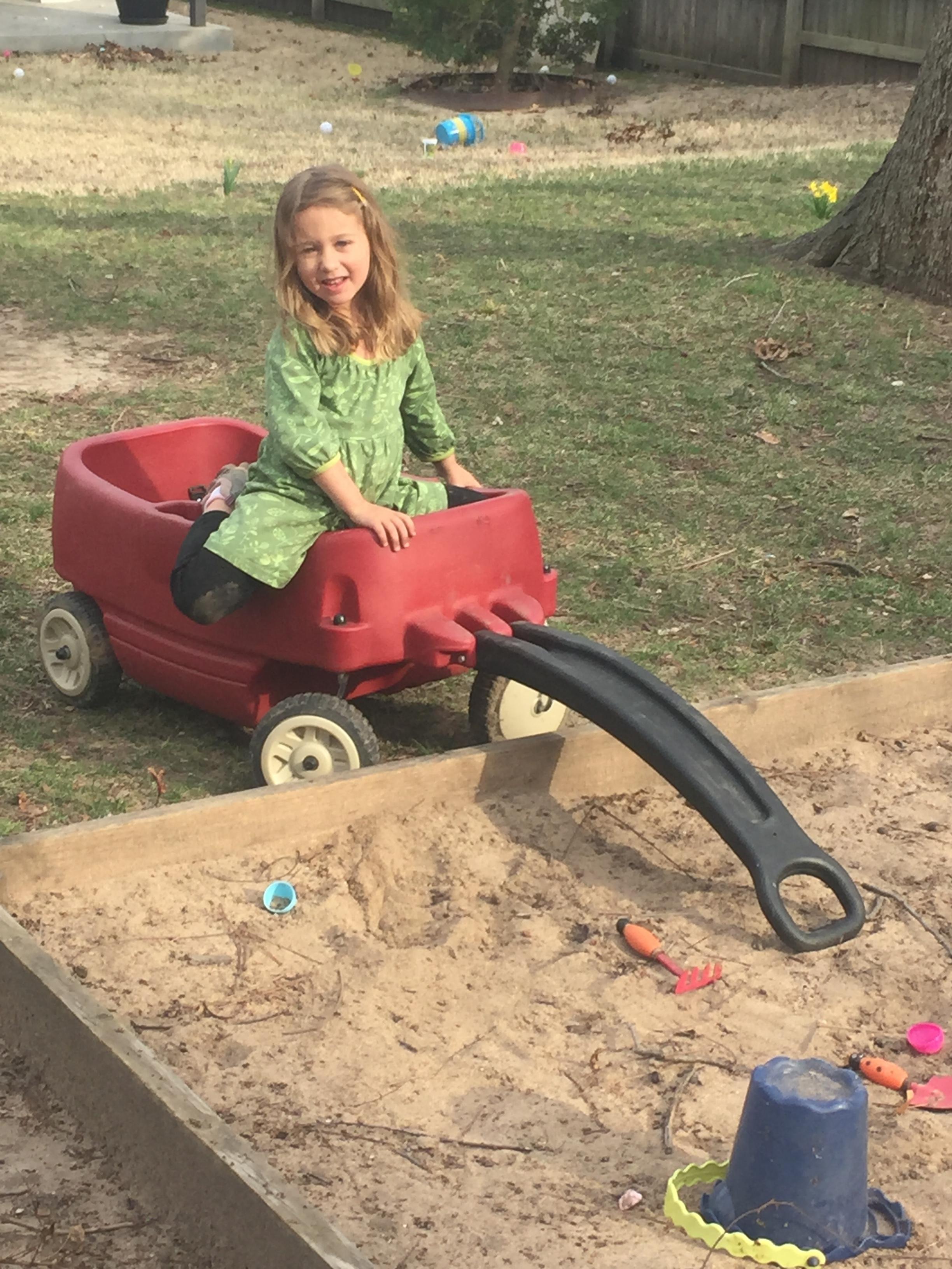 The sandbox is still fun =)