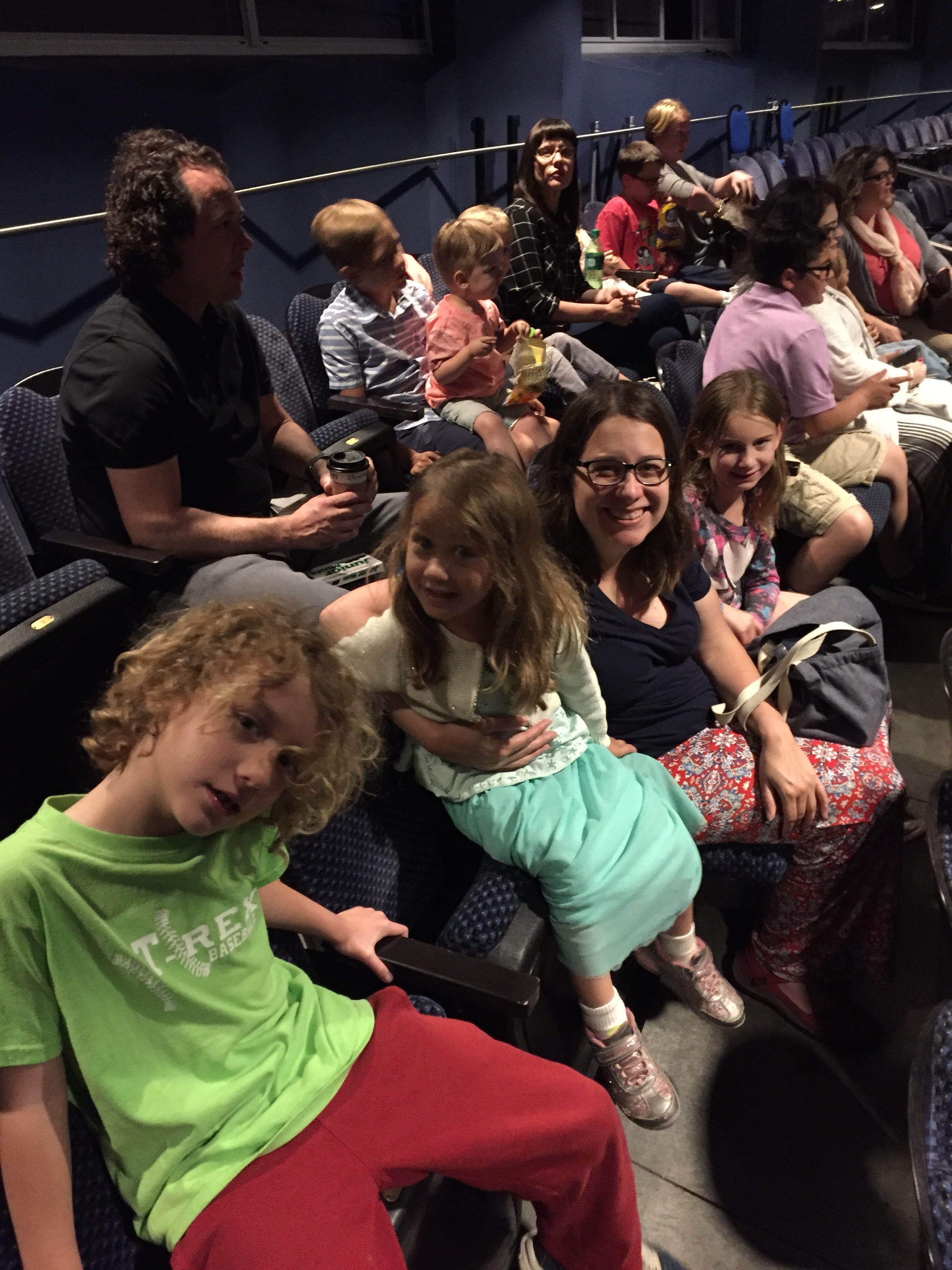 We went to see Wild Kratt's Live! This led to a lot of animal power playtime, Wild Kratt's cartoon watching, and Maia spent her Papa birthday money on a Wild Kratt's power suit and creature power disks!