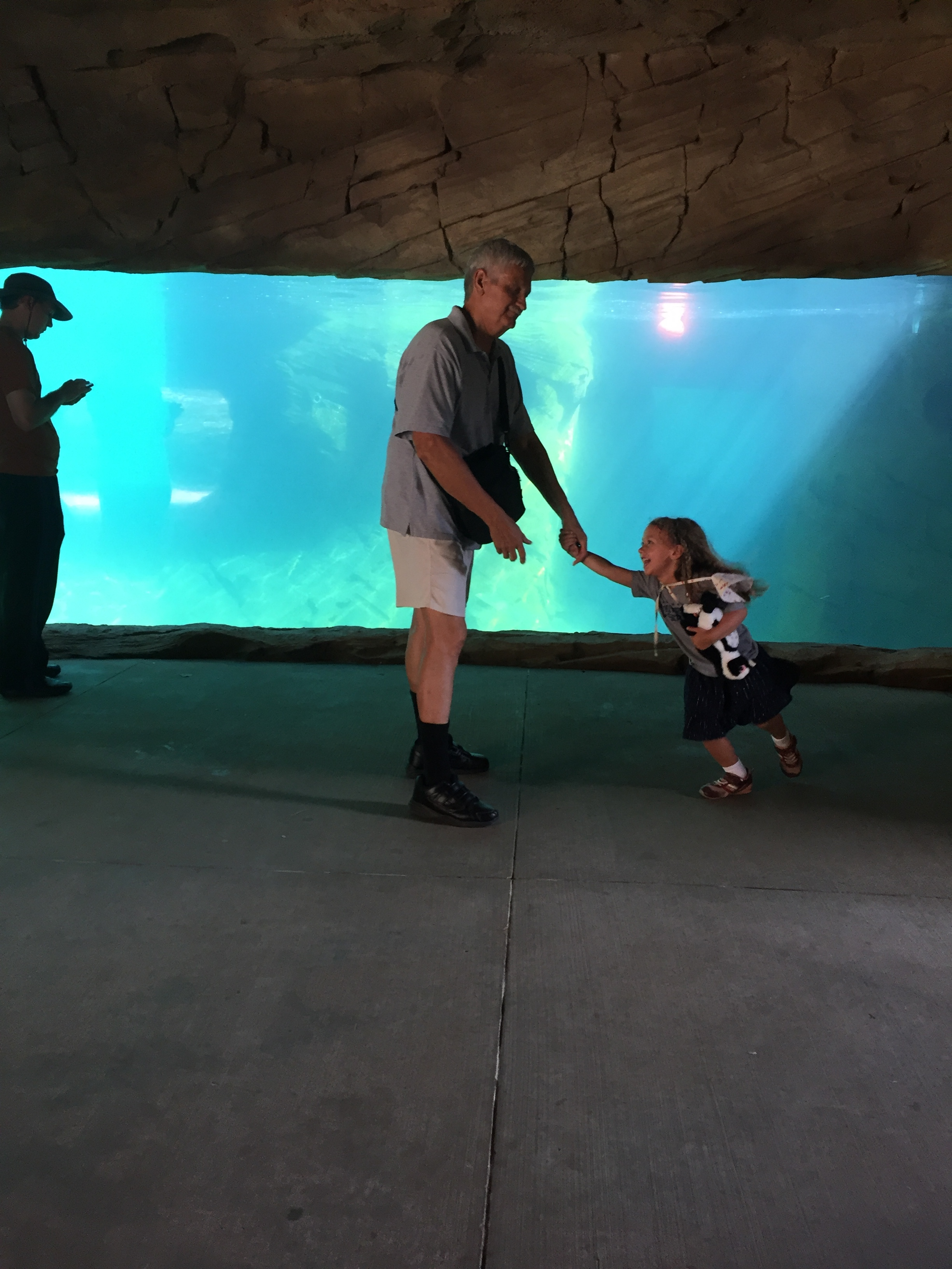 Dancing at the Zoo with Papa