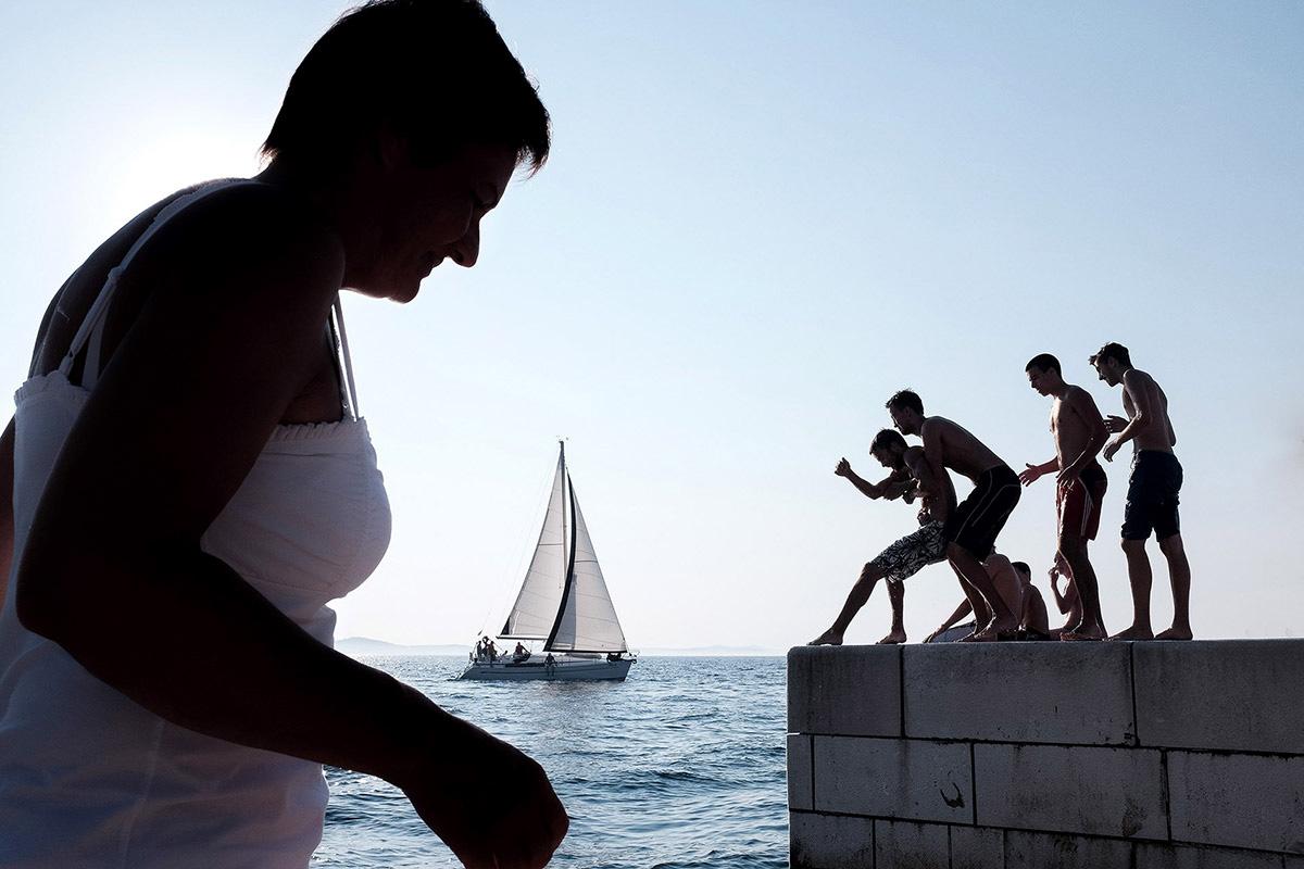 Promenade, Zadar. ©Tomasz Kulbowski