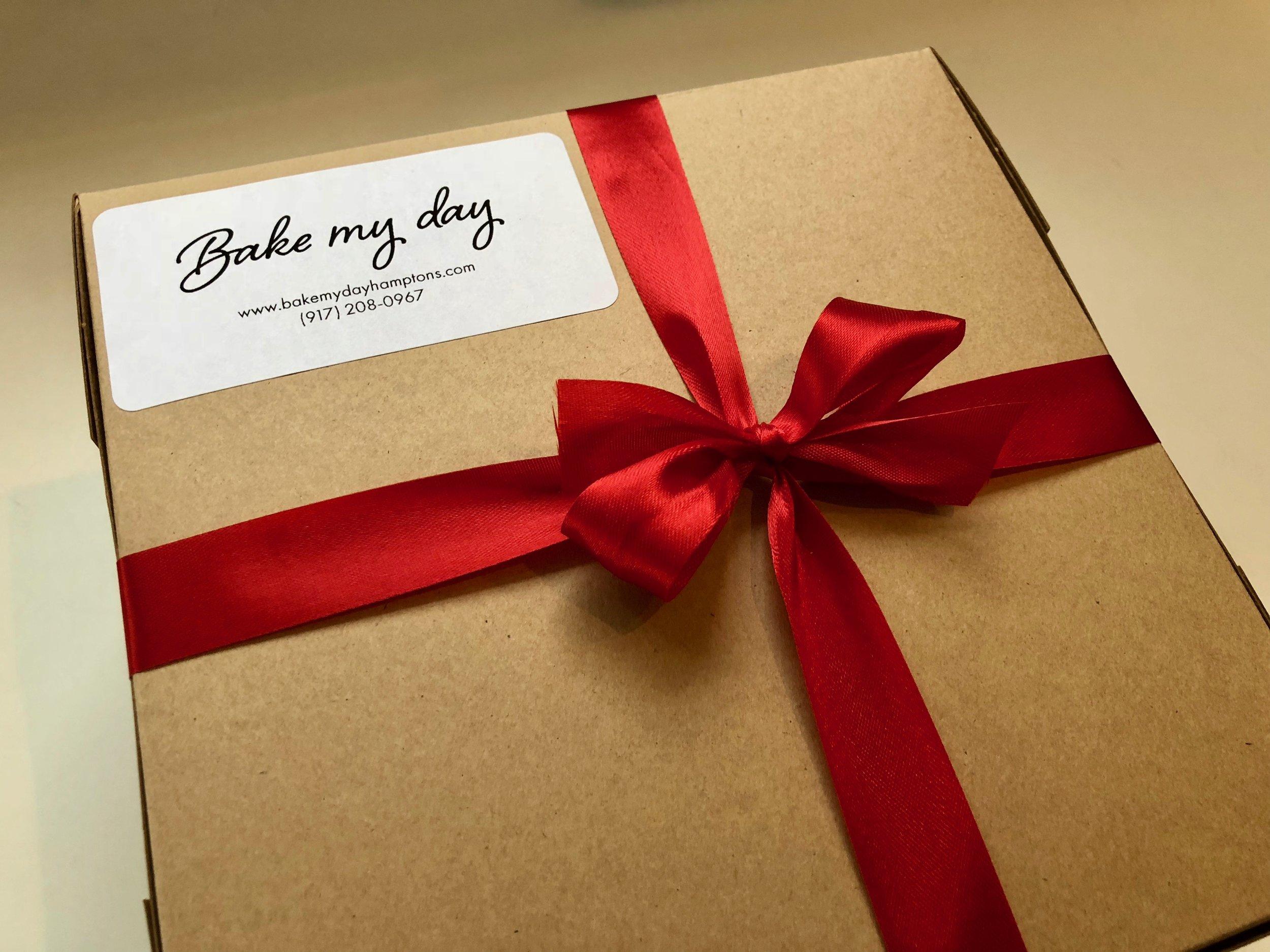 Holiday Christmas Cookie DIY Kit gift box