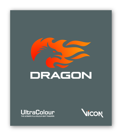 UltraColour Dragon Sample Heat Transfer