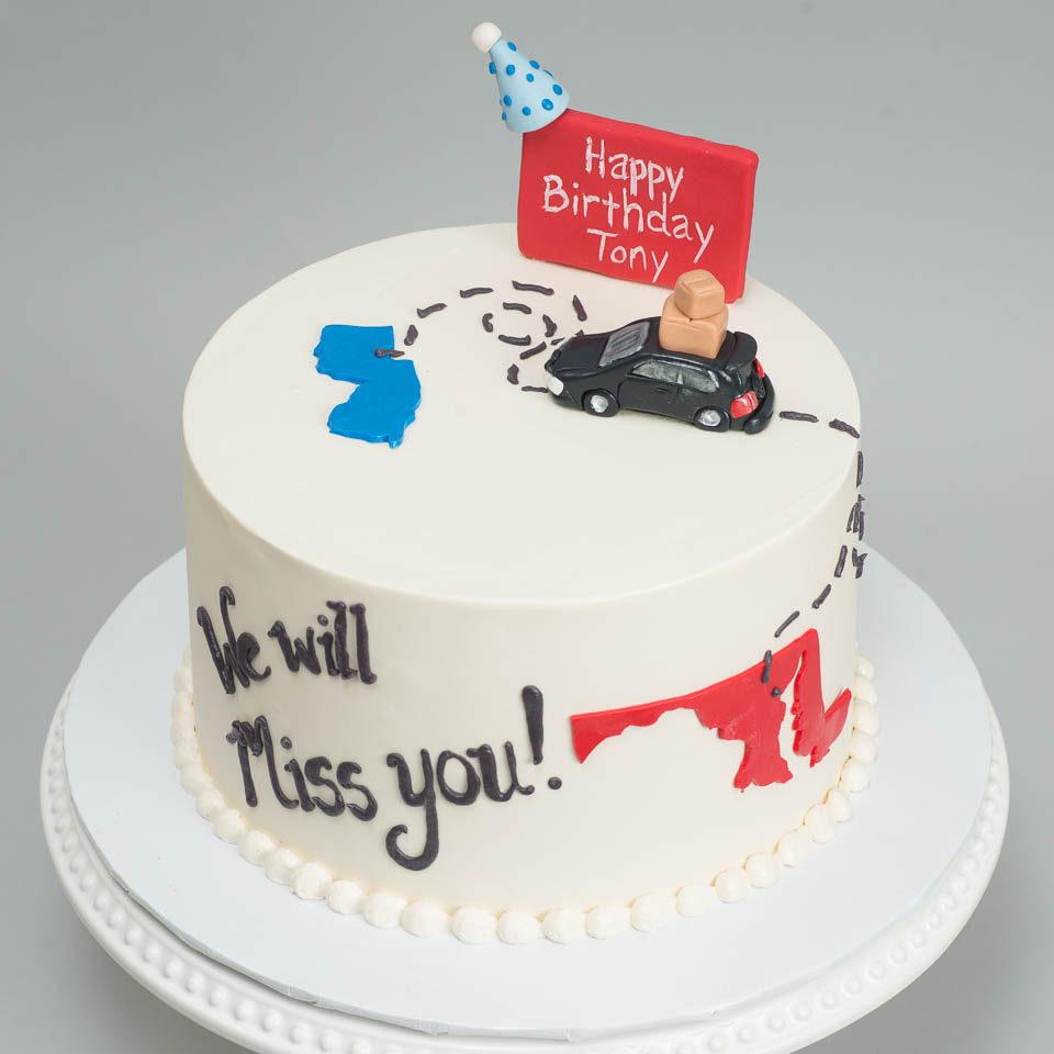 We will Miss You Cake