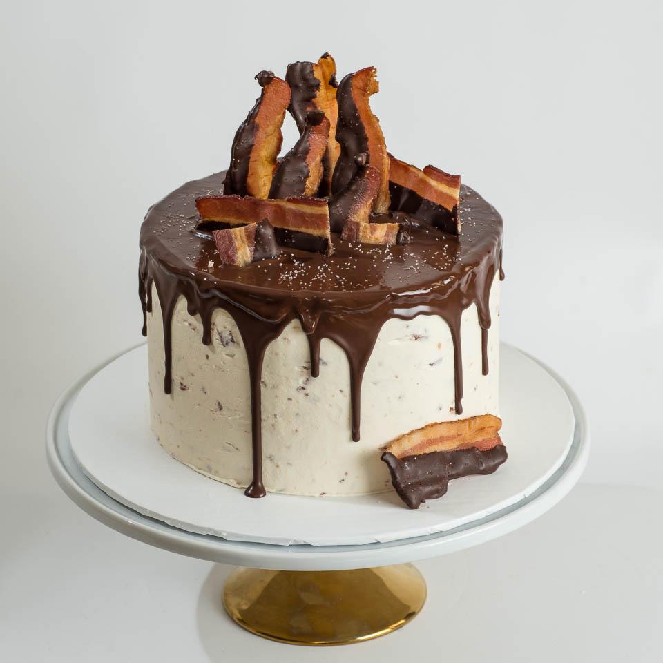 Chocolate and Bacon Cake