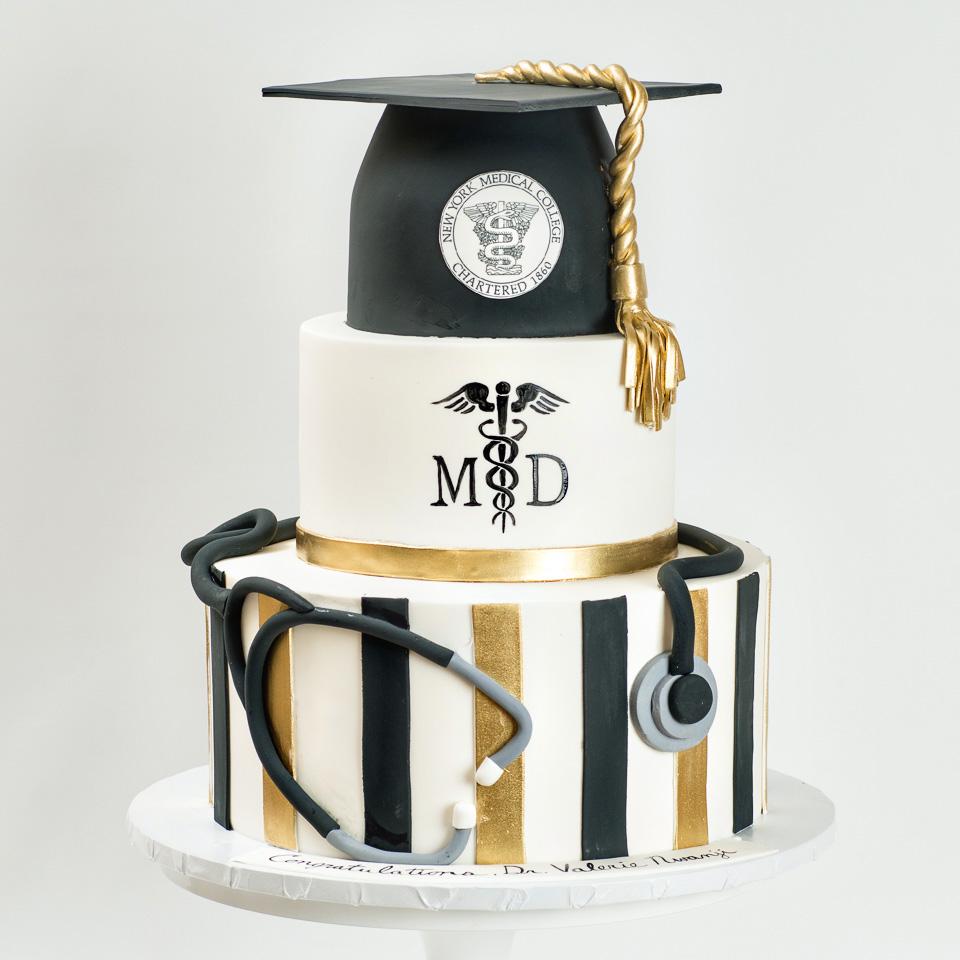 Medical-school-graduation-cake-blue-lace-cakes.jpg