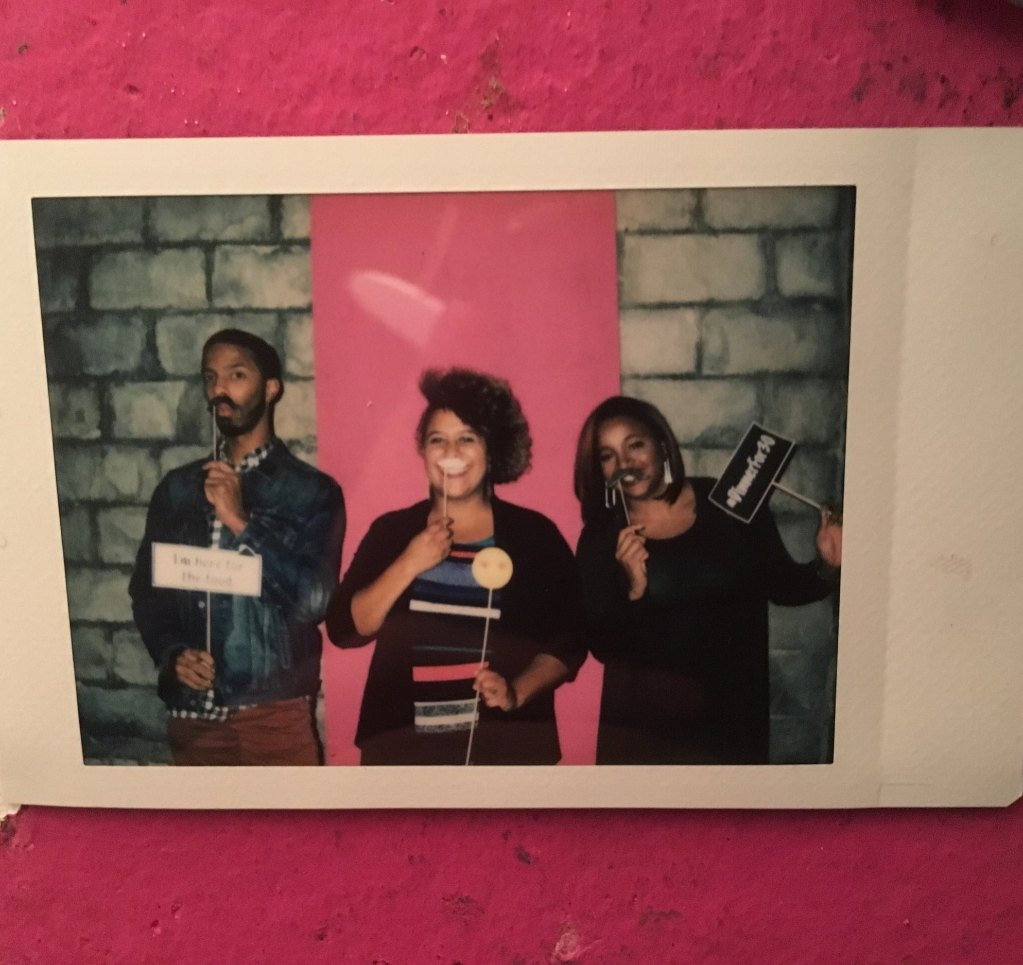 Photo Booth Polaroid Example