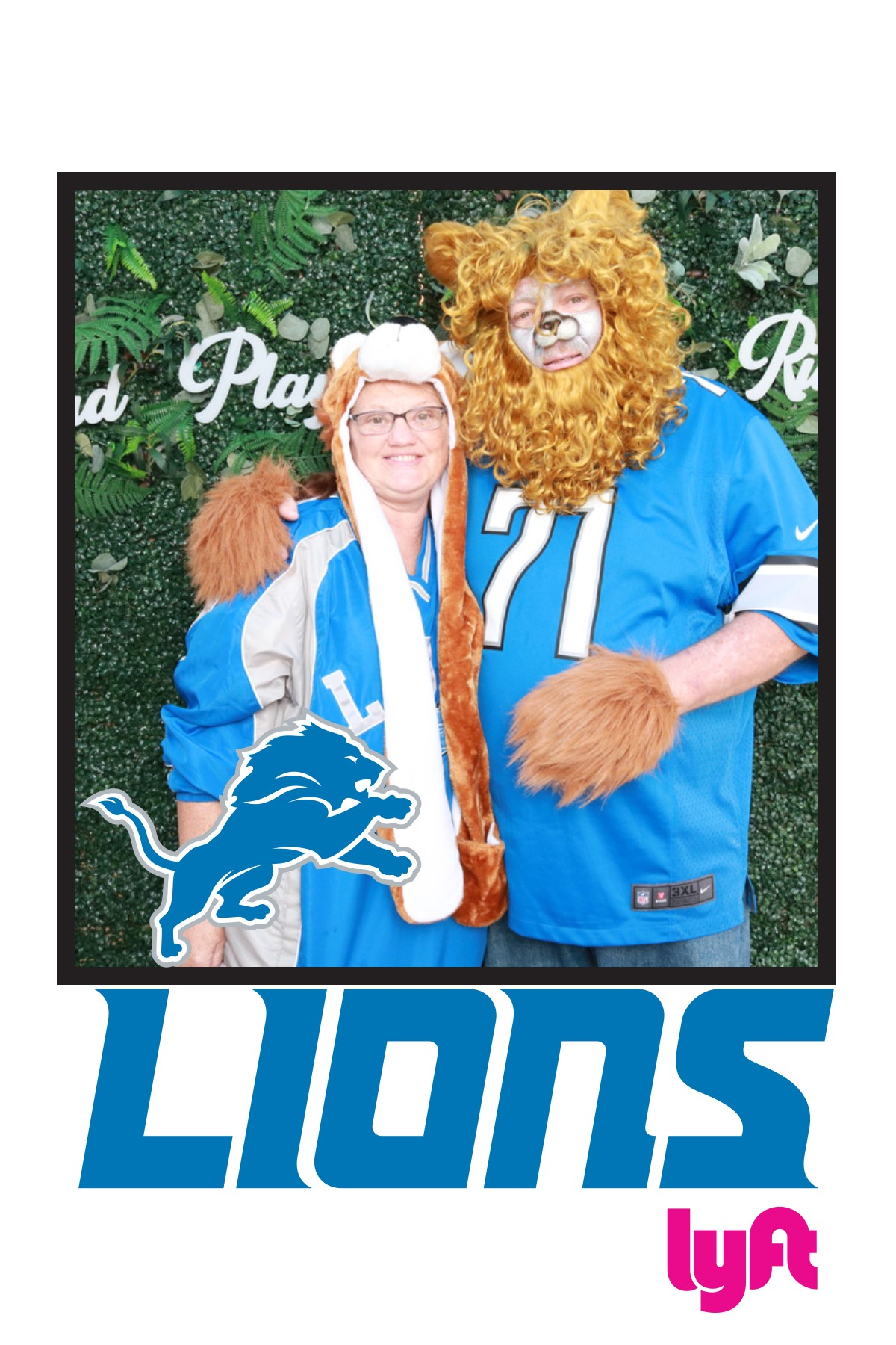 Lions Tailgate at Ford Field
