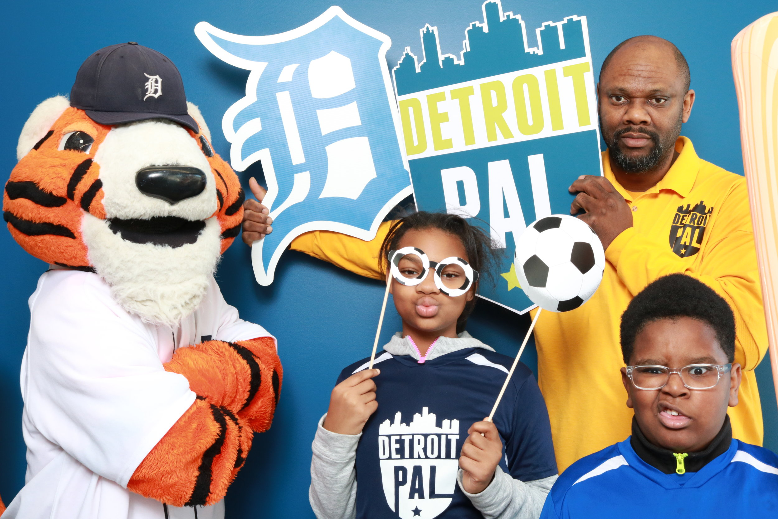 Detroit PAL Grand Opening Weekend