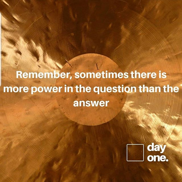Sometimes its useful to question your questions!  Check out our latest blog post  https://www.dayoneco.org/think-day-one/  #theartofcommunication #question #physiotherapy #osteopathy #speechpathology #chiropractic #dietician #occupationaltherapy #dayonethinking #dayone