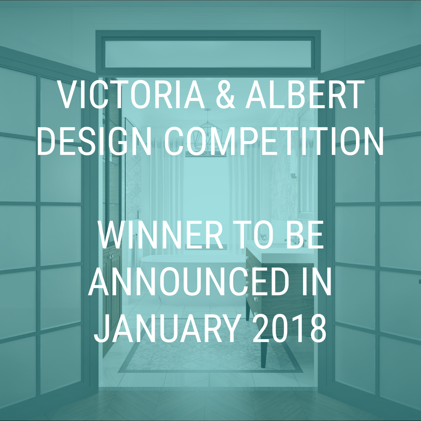 Victoria Albert Winner to be Announced