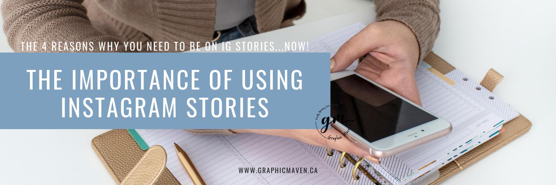Creative Blog Instagram Stories