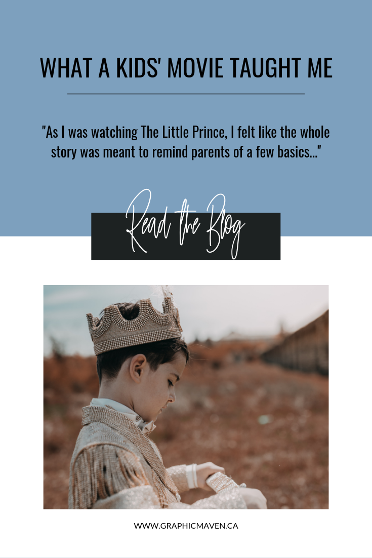 The Little Prince Blog Post