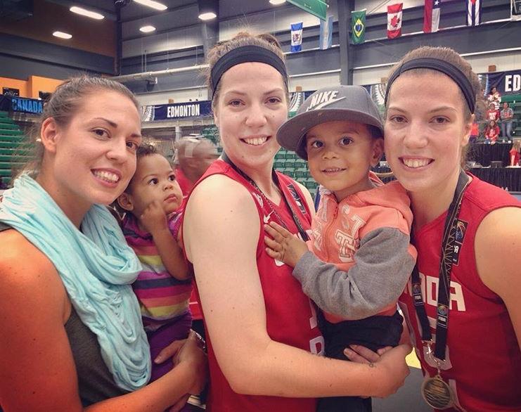 Andrea, Gabriella (Niece), Katherine, Elijah (Nephew) and Michelle