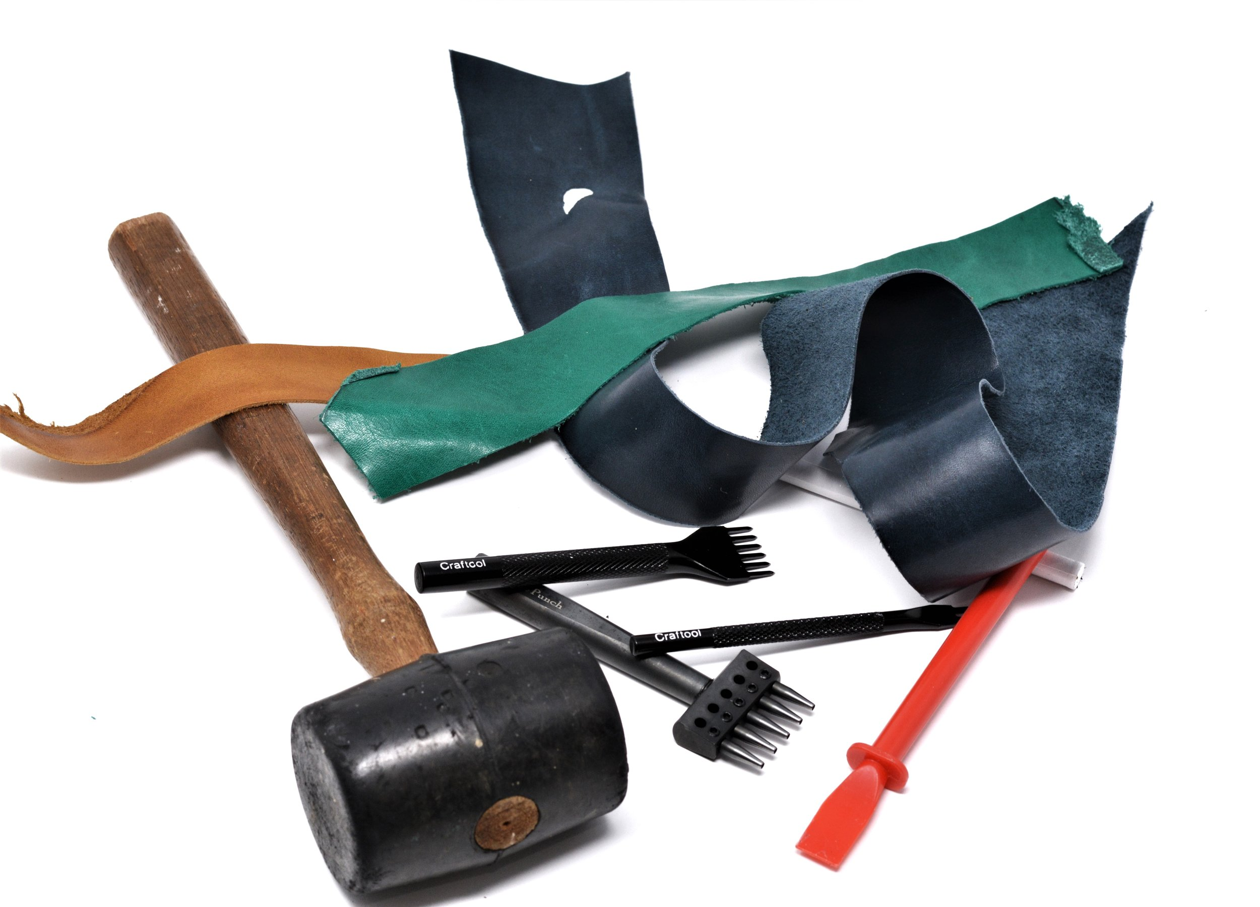 Leather Craft tools for watch strap making
