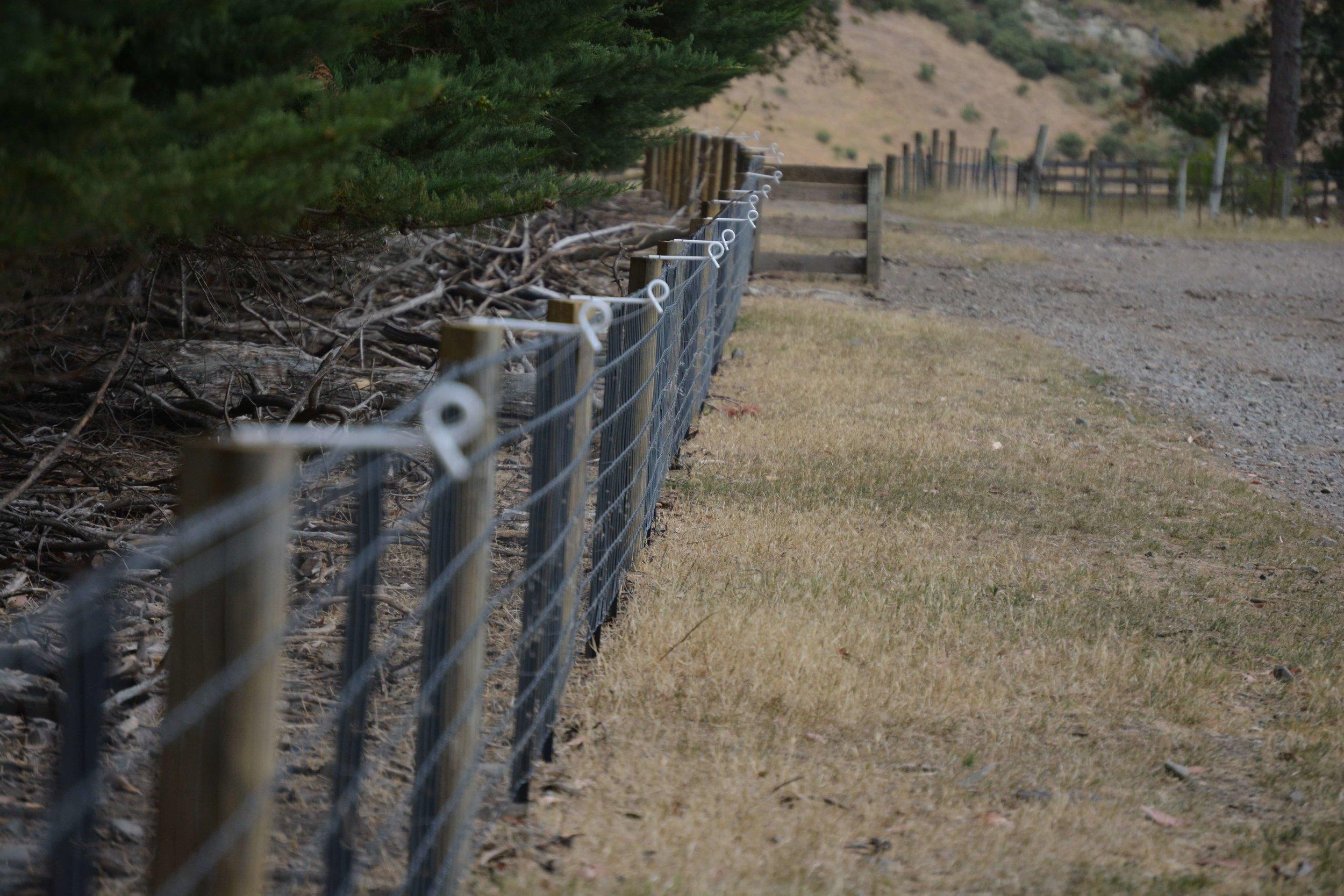 Rural fencing by Blackmore Fencing.