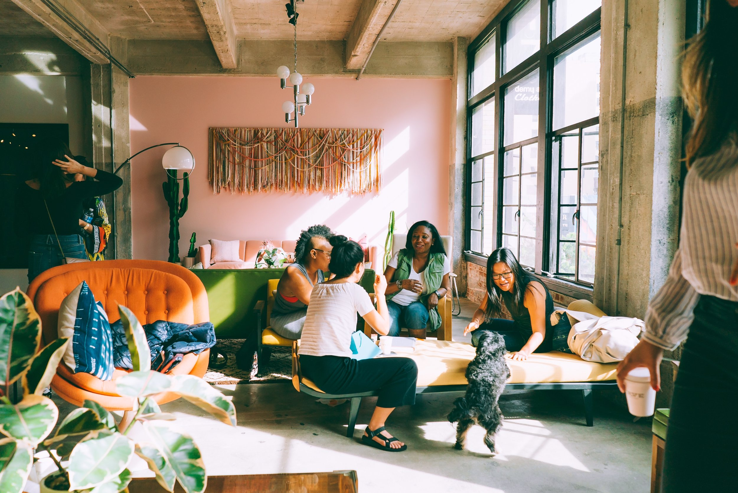 Welcome To the Matriarchy! - Biz Babez is on a mission to create a physical space and a community of biz babez created by women for women. We don't just take women seriously, we think female first and female forward. That's why in addition to our co-work space, we've launched Bizzy.