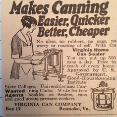 Old advertisements often focused on selling the product itself.