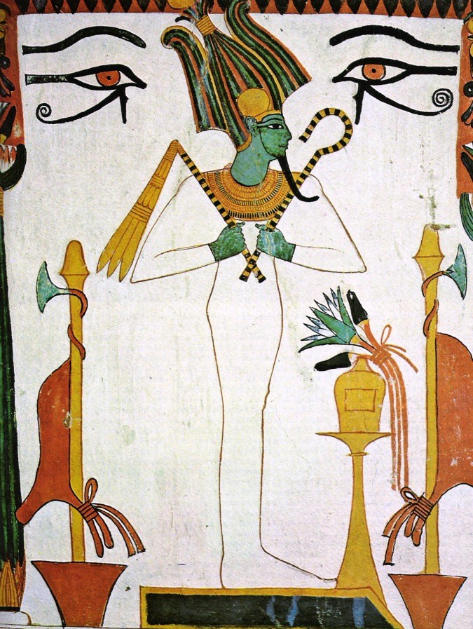Osiris is associated with the astrological sign Aries