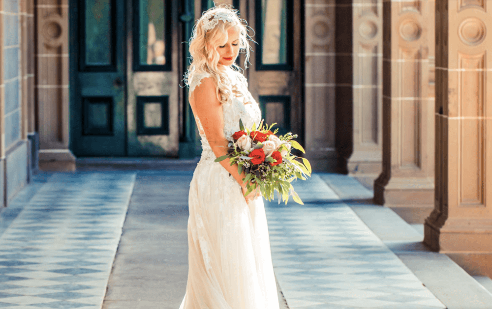 real-weddings-bride-claire-vintage-white-dress