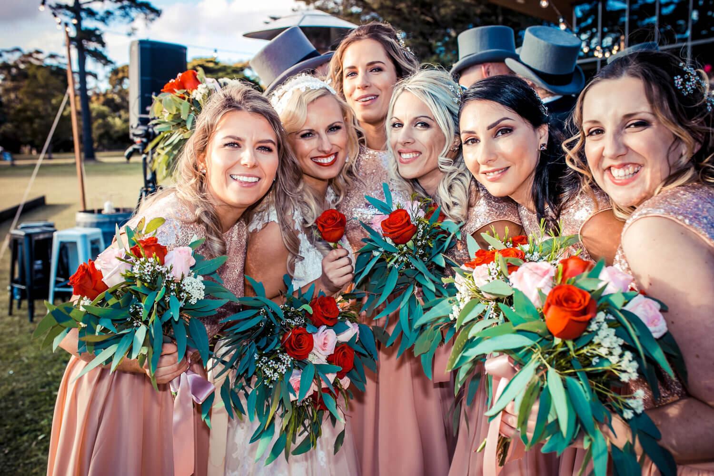 real-weddings-bride-claire-vintage-bridesmaids
