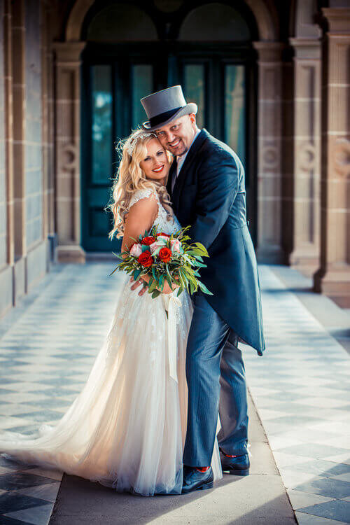 real-weddings-bride-groom-claire-vintage