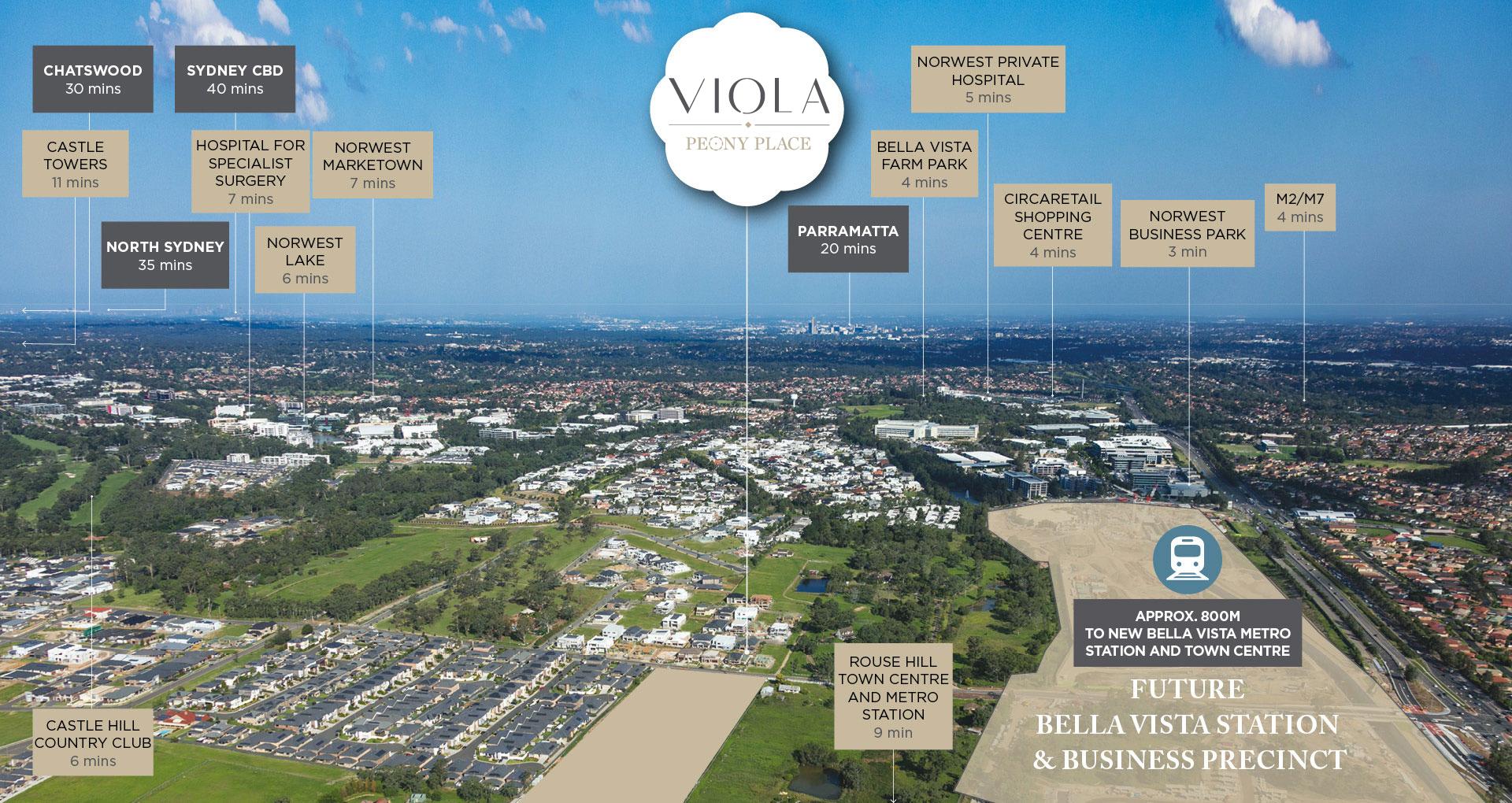 Viola Peony Place Kellyville