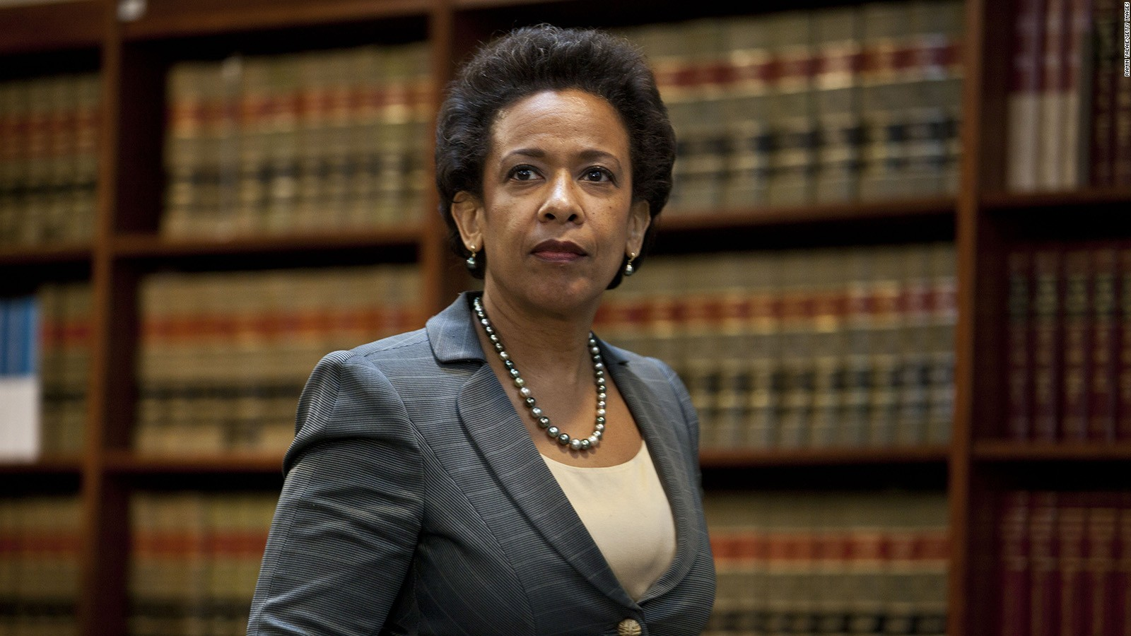 Loretta Lynch - First Black Woman to become the U.S. Attorney General
