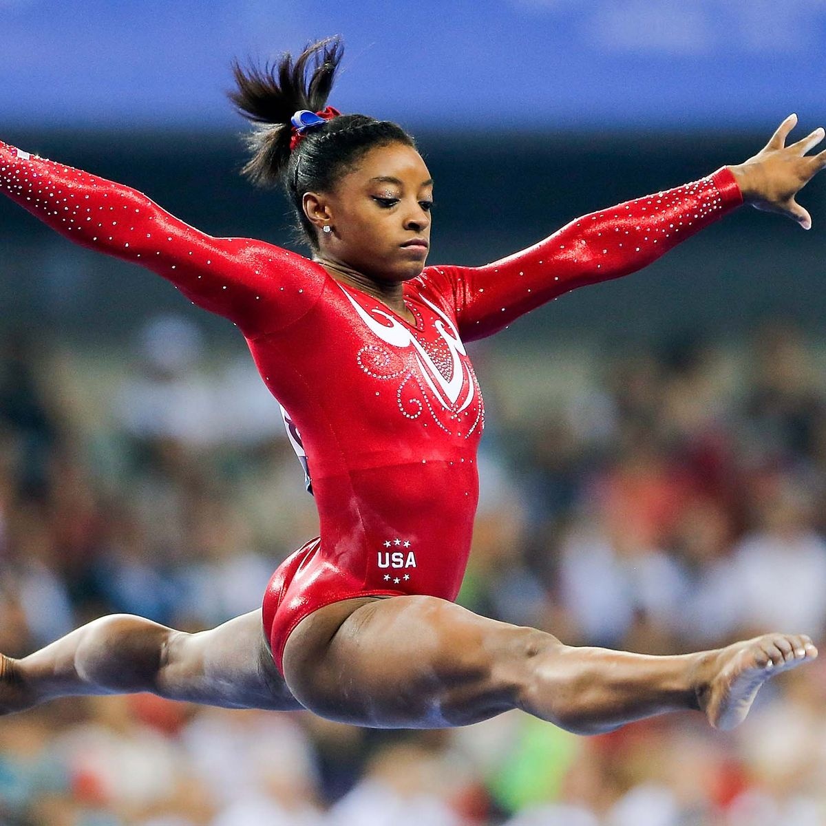 Simone Biles - The most decorated American gymnast in history