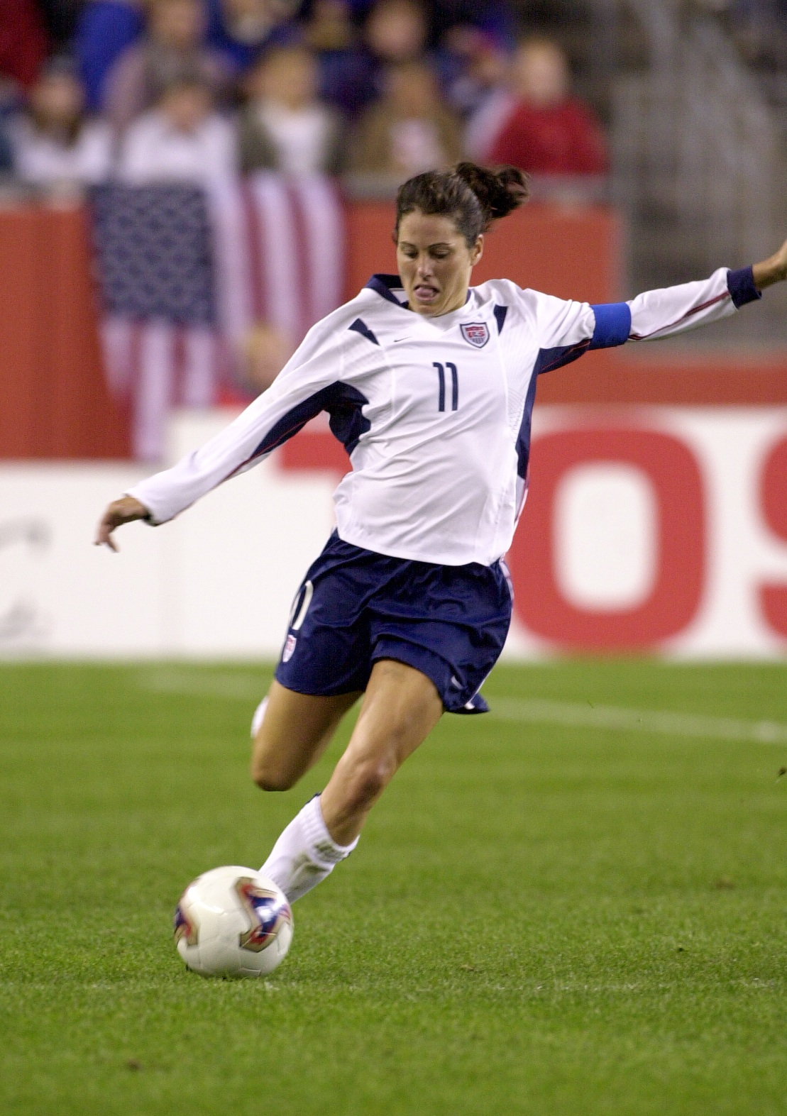 Julie Foudy - Two time FIFA World Cup champion, first American and first woman to receive the FIFA Fair Play Award, U.S. national women's team captain, 4 time Olympic gold medalist