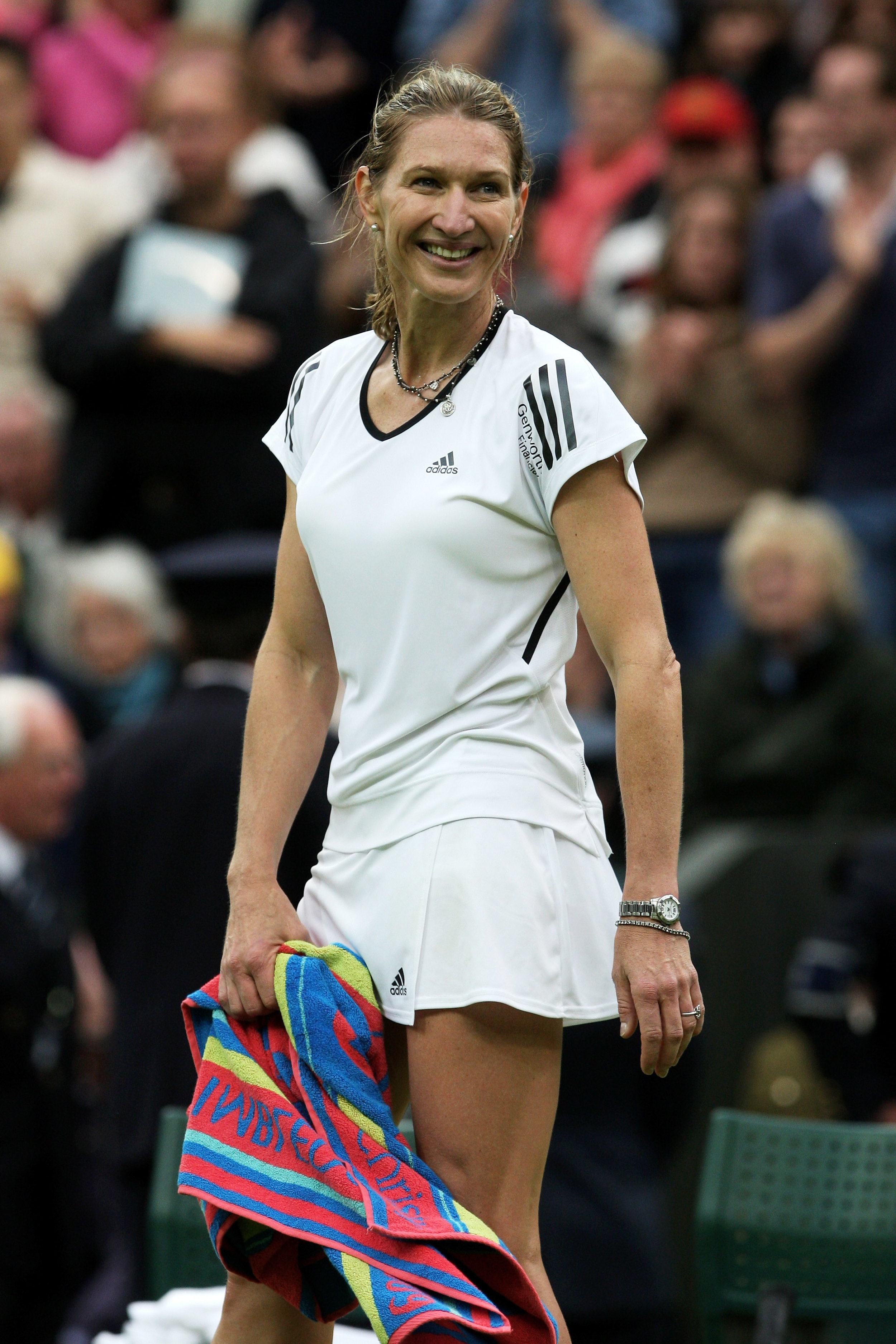 Steffi Graf - Top ranked tennis player, and the first and only tennis player to win the Golden Slam