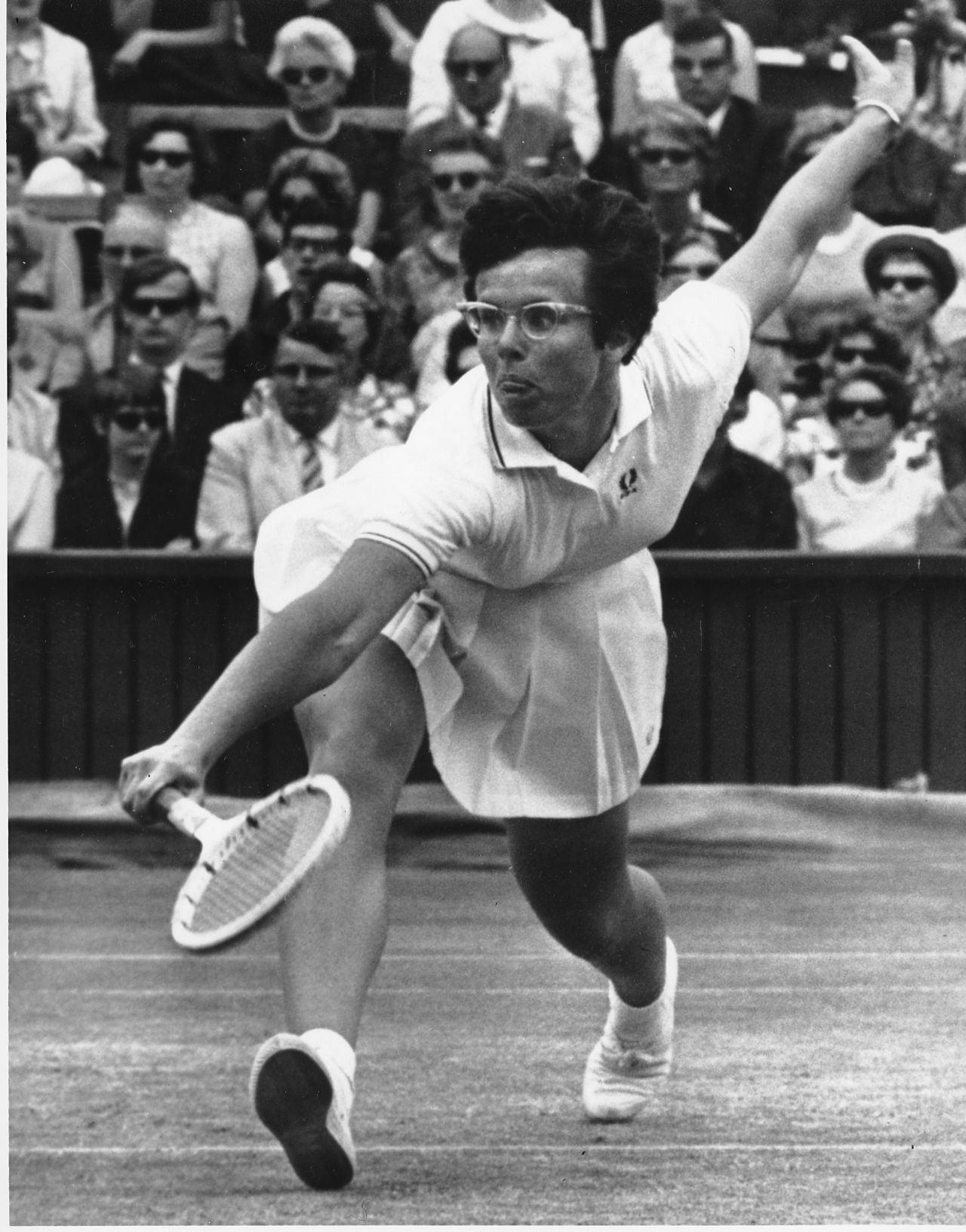 Billie Jean King - Former World No. 1 professional tennis player, founder of the Women's Tennis Association and the Women's Sports Foundation