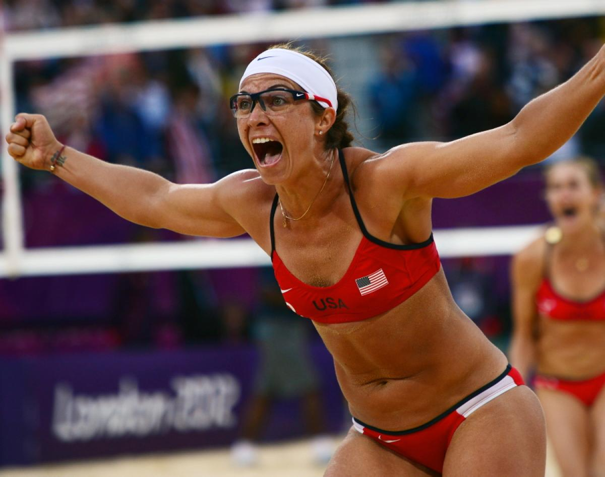 Misty May Treanor - Most successful female beach volleyball player of all time, three-time Olympic gold medalist