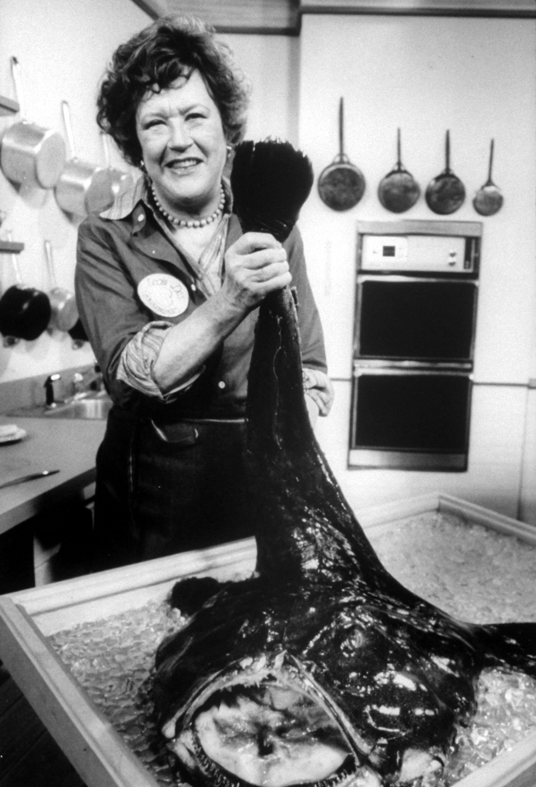 Julia Child - Chef responsible for the popularity of French cuisine with the American public.