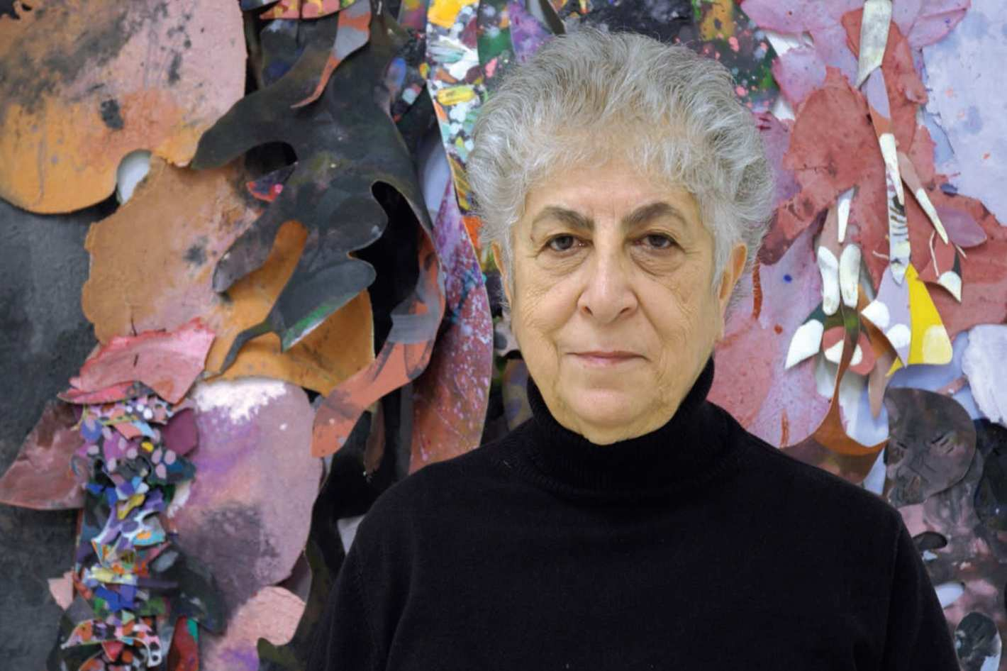Samia Halaby - First female associate professor at the Yale School of Art