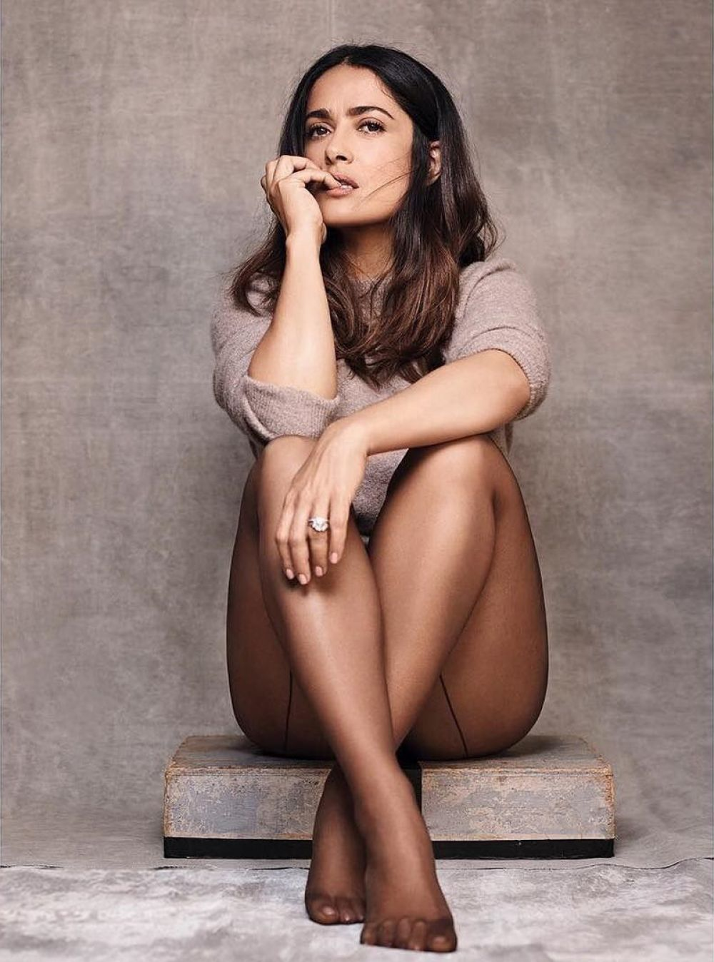 Salma Hayek - Mexican-American actress, producer, and philanthropist