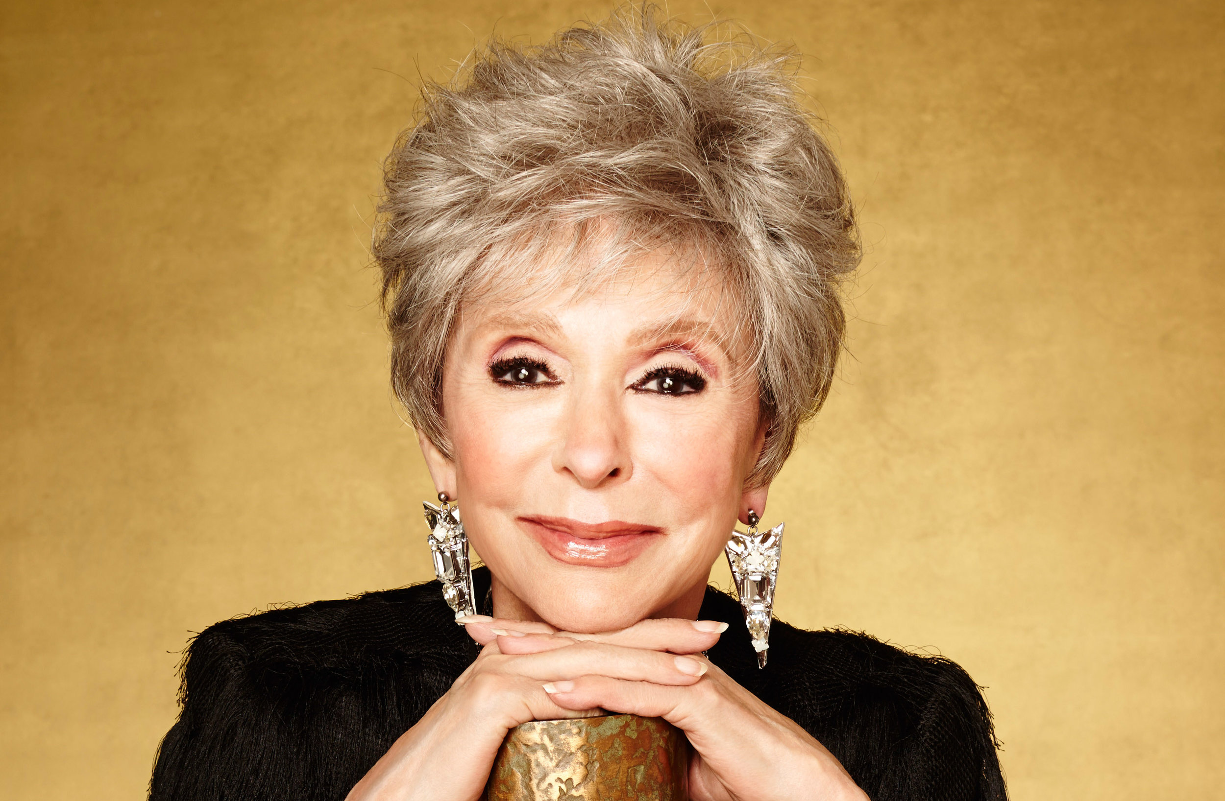 Rita Moreno - First Hispanic-American to win an Emmy, a Grammy, an Oscar and a Tony